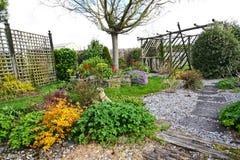 Lovely home garden Stock Photo