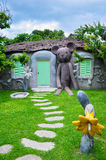 Lovely house. The fansy lovely house for children Stock Images