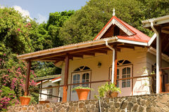 A lovely house in the caribbean Royalty Free Stock Image