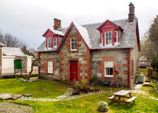 Lovely house at Luss village Stock Image