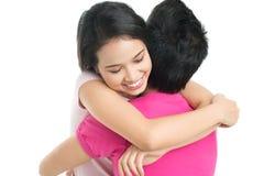 Lovely hug Stock Photo
