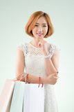 Lovely Korean girl Stock Photography