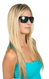 Lovely Lady in Sunglasses Royalty Free Stock Photos