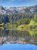 A lovely  lake in the mountains of California Stock Image
