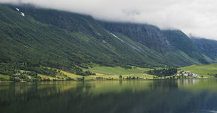 Lovely lake in Norway Stock Photo