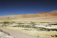 Lovely landscape in the desert Royalty Free Stock Photos