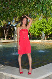 Lovely latina girl Royalty Free Stock Photo