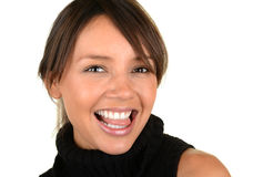 Lovely Latino Woman royalty free stock images