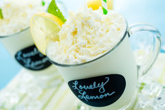 Lovely lemon cold drink Royalty Free Stock Images