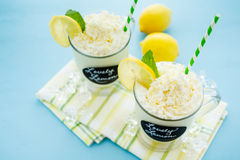 Lovely lemon cold drink Royalty Free Stock Photos