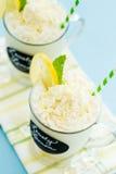 Lovely lemon cold drink Stock Photo