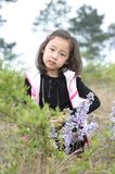 Lovely little asian girl Royalty Free Stock Image