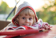 Lovely little child Royalty Free Stock Images