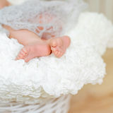 Lovely little feet Royalty Free Stock Photography