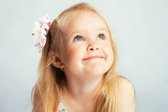 Lovely little girl Royalty Free Stock Images