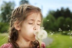 Lovely little girl Stock Photos