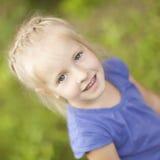 Lovely little girl. Portrait of funny lovely little girl Royalty Free Stock Image