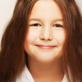 Lovely little girl Stock Photo