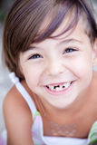 Lovely little girl smilling Stock Images