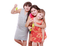 Lovely little girls Stock Images