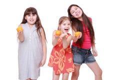 Lovely little girls Stock Photo