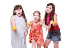 Lovely little girls Stock Photography