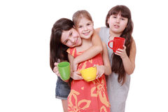 Lovely little girls Royalty Free Stock Photos