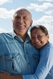 Lovely mature couple Stock Images