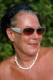 Lovely mature woman Stock Photos