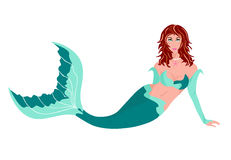 Lovely Mermaid Royalty Free Stock Photos