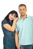 Lovely mid adult couple Royalty Free Stock Images