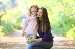 Lovely Mom And Child Stock Photos