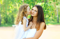 Lovely mother and daughter. Happy family Royalty Free Stock Photos