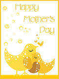 Lovely mother day,  illustration Stock Images