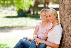 Lovely mother with her daughter Stock Photography
