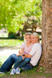 Lovely mother with her daughter Stock Images