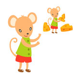 Lovely mouse Stock Photography