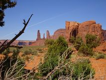 Lovely nature in Monument Valley in Utah, USA. Lovely nature in the Monument Valley in Utah, USA Royalty Free Stock Photos