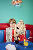 Lovely nerds Royalty Free Stock Photos