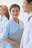Lovely nurse Royalty Free Stock Image