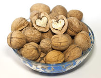 Lovely nut Royalty Free Stock Image