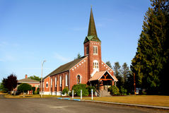 Lovely Old Brick Church Royalty Free Stock Photography