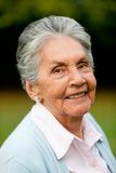 Lovely old woman Stock Images