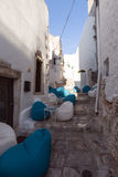 Lovely ostuni`s narrows in italy Royalty Free Stock Photography