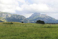 Lovely panorama in the alps in Germany Stock Images