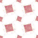 Lovely pattern with hearts Royalty Free Stock Images