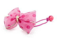 Lovely pink hairpin Royalty Free Stock Photos