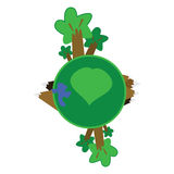 Lovely planet 2 Stock Images