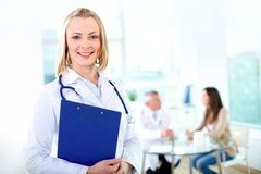 Lovely practitioner Royalty Free Stock Photo