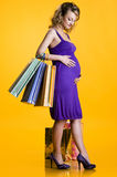 Lovely pregnant woman Stock Photo